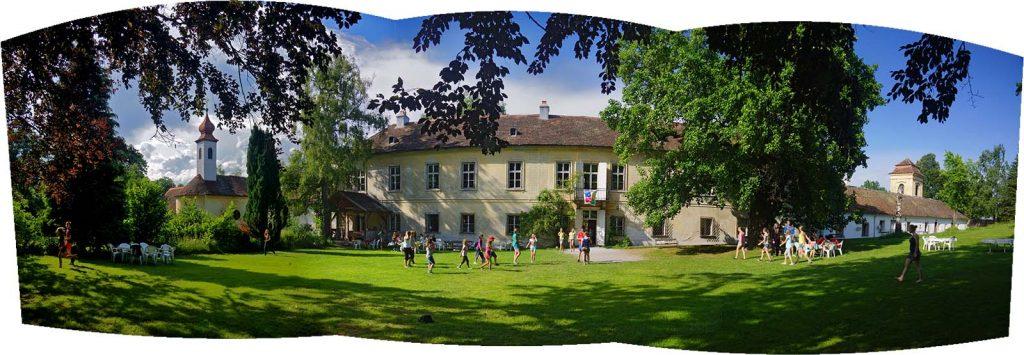 Schloss Wetzlas Panorama Vorstufe